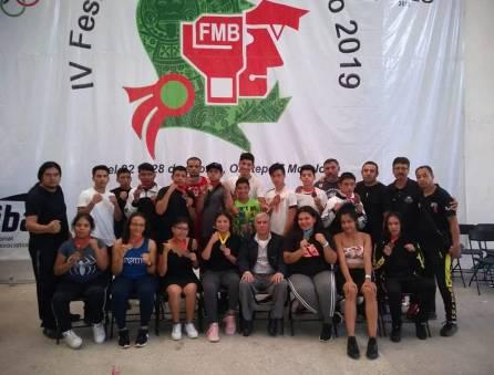 Gran actuación de pugilistas hidalguenses en el Festival Olímpico de Boxeo 2019-2