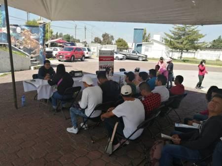 """Gran respuesta al programa """"Bolsa de Trabajo en tu Comunidad"""", en Tizayuca1"""