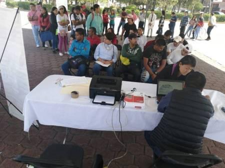 """Gran respuesta al programa """"Bolsa de Trabajo en tu Comunidad"""", en Tizayuca2"""