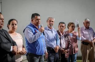 Inaugura Mineral de la Reforma pavimentación de concreto en El Chacón 4