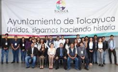 """Incorporan becarios del Programa Federal """"Jóvenes Construyendo el Futuro"""" a actividades del municipio de Tolcayuca5"""