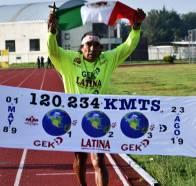 José Luis Macías sigue sumando kilómetros1