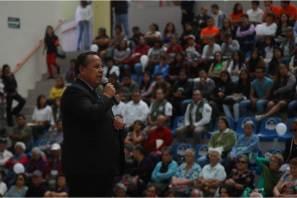 Monólogo reúne a más de 300 asistentes en Pachuquilla; el objetivo, la prevención de delitos y generar conciencia en la población en el marco del Día Mundial contra la Trata5