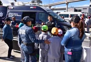 Policía Estatal genera acciones de proximidad con niños y adolescentes1