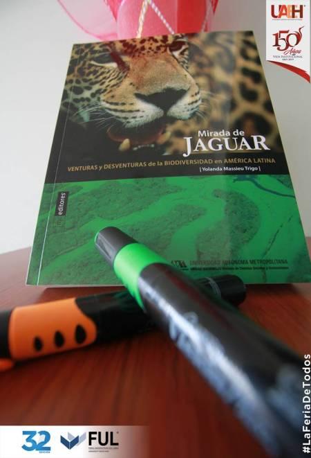 Presentarán Mirada de Jaguar obra de Yolanda Massieu Trigo en FUL 2019.jpg