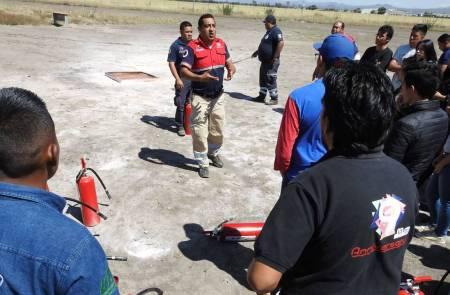 Protección Civil de Tolcayuca asiste a capacitación de la CNPC1