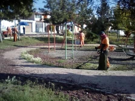 Realiza SOPOT jornadas de limpieza en colonias de Pachuca1