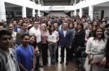 Realizan entrega simbólica de 3645 becas Miguel Hidalgo en la Universidad Politécnica de Pachuca 3