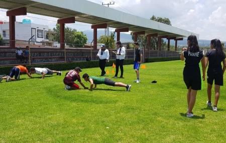 Realizan visorias deportivas en Huichapan2