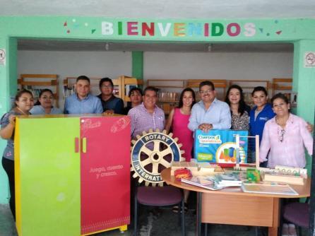 Recibe donación de material didáctico Montessori, biblioteca de Los Ángeles, en Tolcayuca4