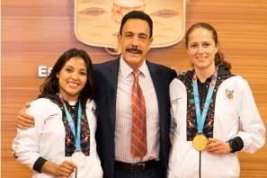 Reconoce Fayad a deportistas que participaron en Panamericanos3