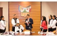 Reconoce Fayad a deportistas que participaron en Panamericanos5