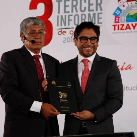 Alcalde de Tizayuca rinde su Tercer Informe de Gobierno ante más de 5 mil personas1