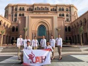 Ballet Folclórico de la UAEH representa a México en Emiratos Árabes