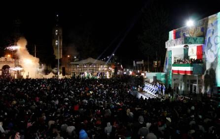 Celebran con gran éxito el Grito de Independencia en Tizayuca4