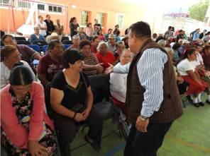 Celebran emotivo festejo para los adultos mayores en Tolcayuca