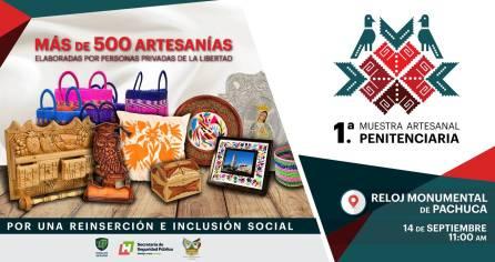 Celebrará Gobierno de Hidalgo 1a Muestra Artesanal Penitenciaria1