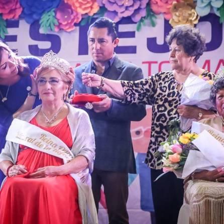 Con coronación de la Reina del Adulto Mayor, concluyen festejos a adultos mayores en Mineral de la Reforma 2