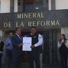 Con simulacro de sismo conmemora Mineral de la Reforma5
