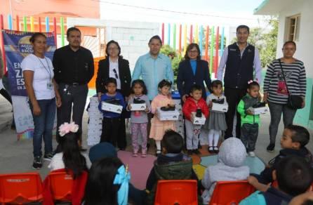 Concluye con éxito entrega de zapatos escolares en preescolares de Mineral de la Reforma 1