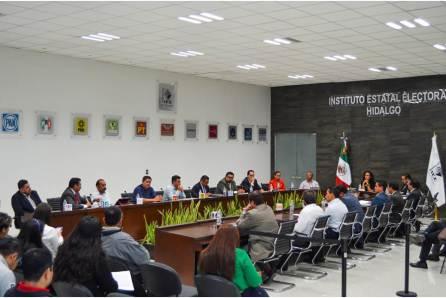 Efectúa Consejo General del IEEH primera sesión ordinaria de septiembre, se aprueba tope de gastos de Precampaña para el Proceso Electoral Local 2019-2020-4