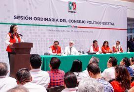 Efectúan en el PRI Hidalgo Sesión Ordinaria del Consejo Político Estatal3