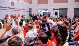 Efectúan en el PRI Hidalgo Sesión Ordinaria del Consejo Político Estatal4