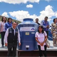 Encabeza Raúl Camacho Baños, 3er. entrega de tinacos a bajo costo en Mineral de la Reforma3