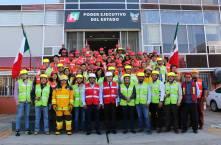 Gobierno de Hidalgo participa en el Macro Simulacro 2019 4