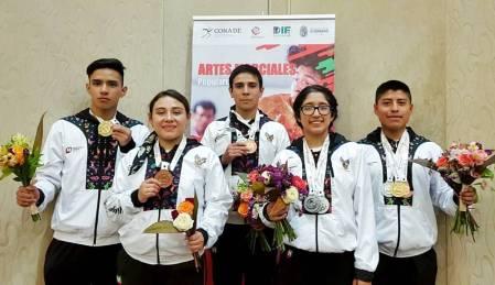 Hidalgo suma once medallas en los Juegos Nacionales Populares 2019