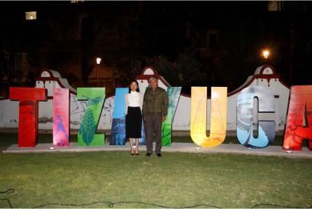 Inauguran letras monumentales de Tizayuca2