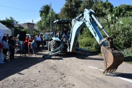 Inicia ampliación de red de drenaje en El Campamento