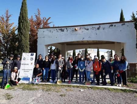 """Inicia intervención del Programa """"Jóvenes Construyendo Prevención Tizayuca 2019"""" 2"""