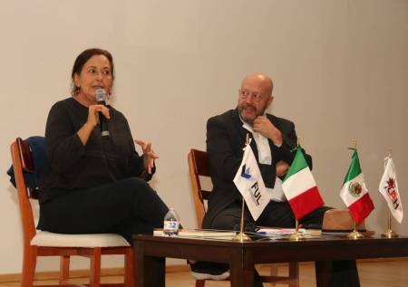 Lourdes Hernández e Hilario Peña presentes en la FUL 2019-1