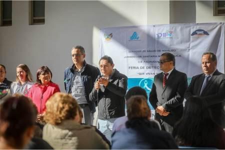 Realizan en Mineral de la Reforma Feria de Detecciones de Cáncer Cervicouterino y Cáncer de Mama