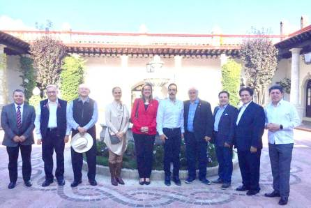 Realizan gira de trabajo el secretario de Turismo federal y la embajadora de Reino Unido a Hidalgo