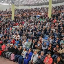 Refrenda alcalde Raúl Camacho baños su compromiso con los mineralreformenses durante su Tercer Informe de Gobierno 1
