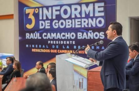 Rinde Raúl Camacho Baños su Tercer Informe de Gobierno 6