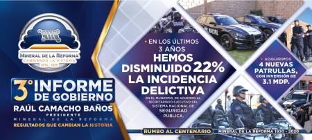 Tercer innforme de gobierno de Mineral de la Reforma3