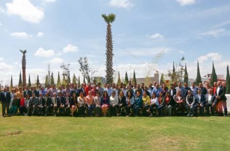 Titular de la STPSH se reúne con representantes sindicales