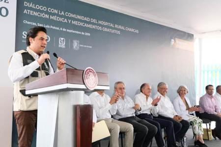 Zoé Robledo, Hospital de Ixmiquilpan