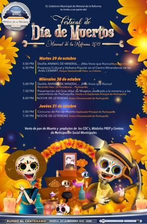 Alista Mineral de la Reforma Festival de Día de Muertos 1