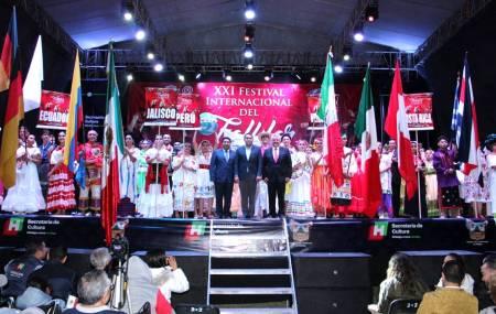 Arranca Festival Internacional del Folklor1
