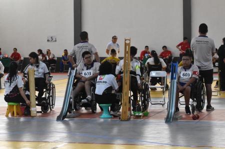 Boccia cierra con oro en la Paralimpiada Nacional 2019