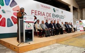 Celebran con éxito la Feria del Empleo Tizayuca 2019-1