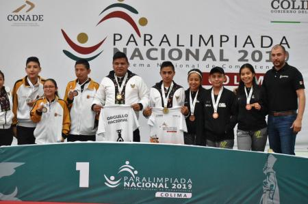 Cierra Hidalgo con par de oros el segundo bloque de la Paralimpiada Nacional 2019