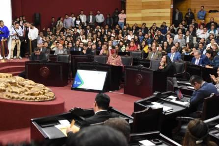 Comparece titular de Finanzas ante el Pleno del Legislativo local4