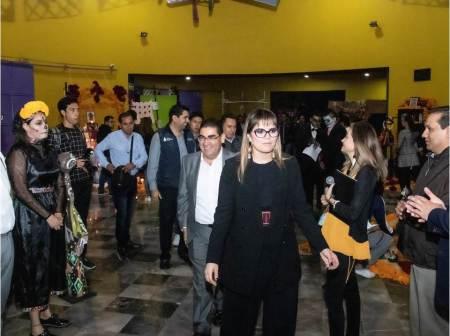 Demostración de altares del Museo Interactivo El Rehilete 2019-2