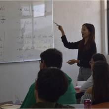 """""""UPMH recibe a maestra extranjera """"3"""