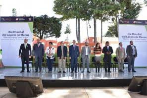 El CECYTE Hidalgo firmó convenio de colaboración con la Delegación Estatal del ISSSTE, en el Día Mundial del Lavado de Manos
